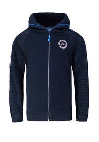 WE Fashion - JONGENS MET CAPUCHON EN TAPEDETAIL - Zip-up hoodie - dark blue - 0