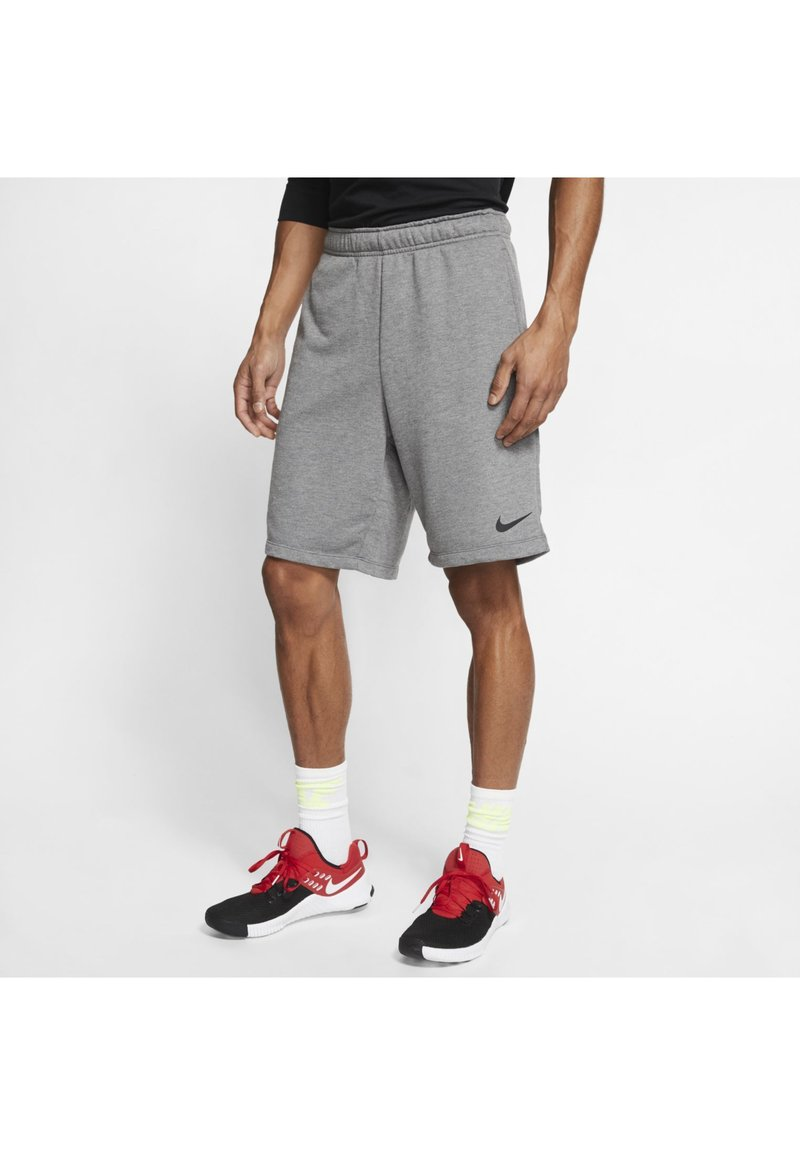 Nike Performance - DRY SHORT - Pantaloncini sportivi - charcoal heather/black