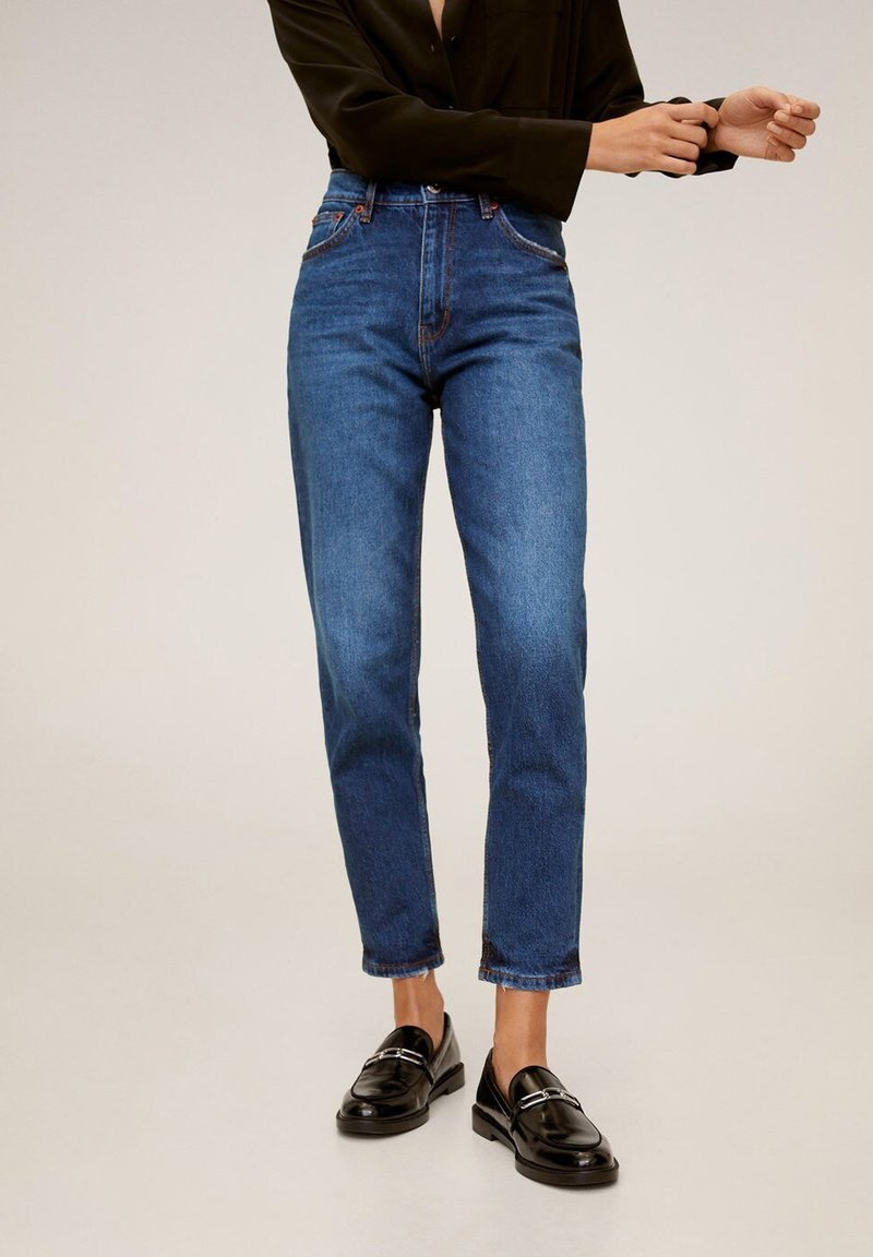 Mango - NEWMOM - Slim fit jeans - dark blue