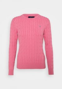 GANT - CABLE CREW - Jumper - chateau rose - 5
