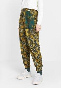 Desigual - Trousers - yellow - 1