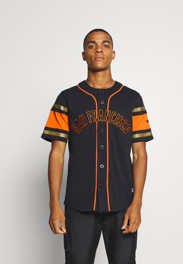 SAN FRANCISCO GIANTS ICONIC FRANCHISE SUPPORTERS - Squadra - black