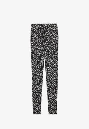 Leggings - Trousers - nero st.little giraffe