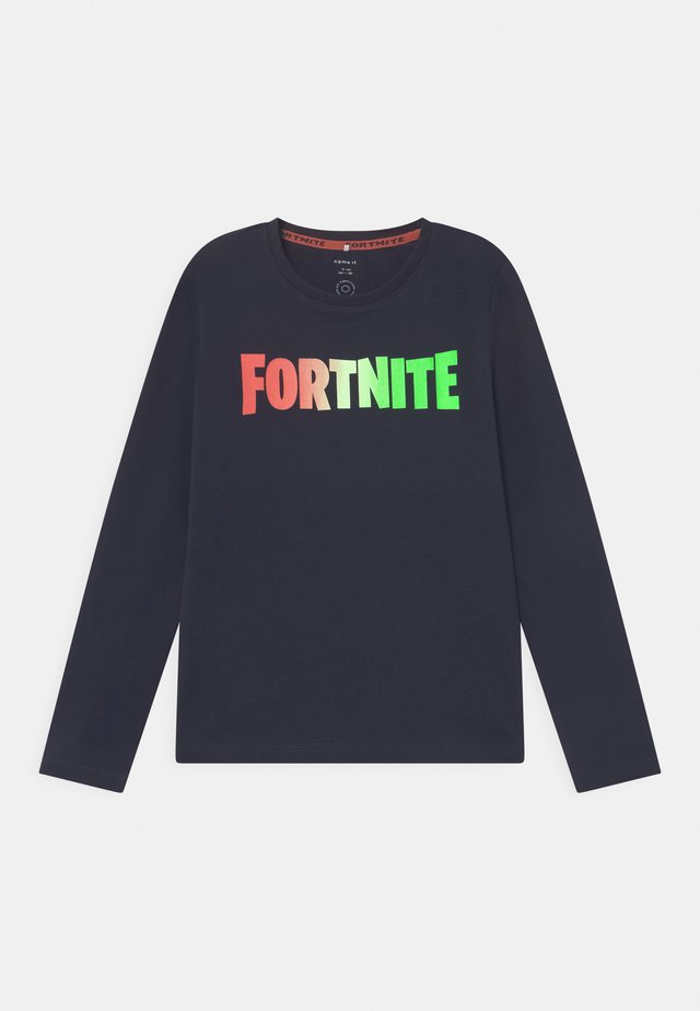NKMFORTNITE  - Maglietta a manica lunga - dark blue