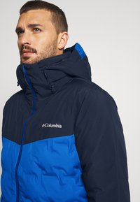 Columbia - WILD CARD JACKET - Kurtka narciarska - bright indigo/collegiate navy - 3