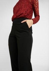 ONLY Tall - ONLADELE ROCKY PANTS - Kalhoty - black - 4
