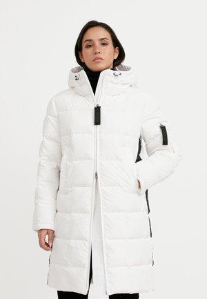 Down coat - white