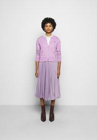 Polo Ralph Lauren - CARDIGAN LONG SLEEVE - Cardigan - matisse purple - 1
