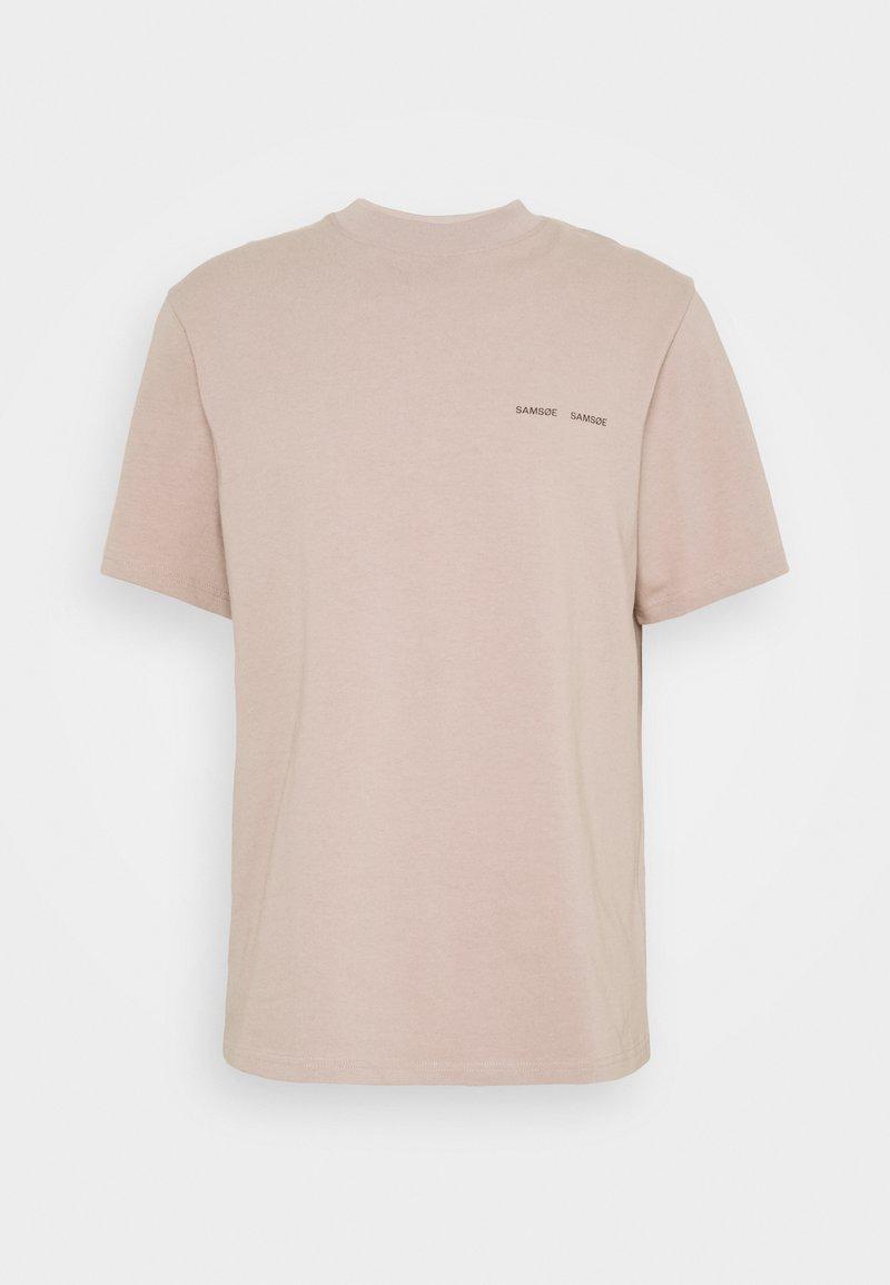 Samsøe Samsøe - NORSBRO - Basic T-shirt - bark
