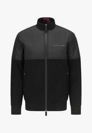 Zip-up sweatshirt - black