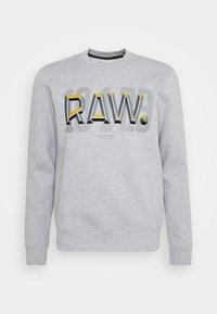 RAW - Mikina - heavy sherland/grey