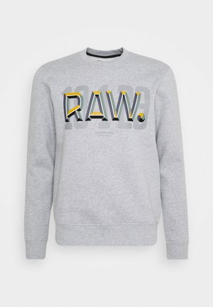 RAW - Sweatshirt - heavy sherland/grey