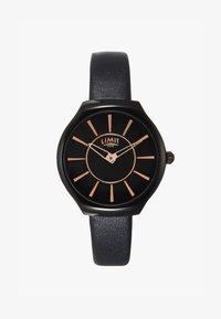 Limit - LADIES STRAP WATCH MATTE DIAL - Watch - black - 1