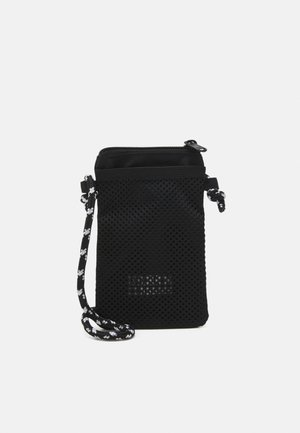 RECYCLED RIPSTOP NECKPOUCH UNISEX - Across body bag - black