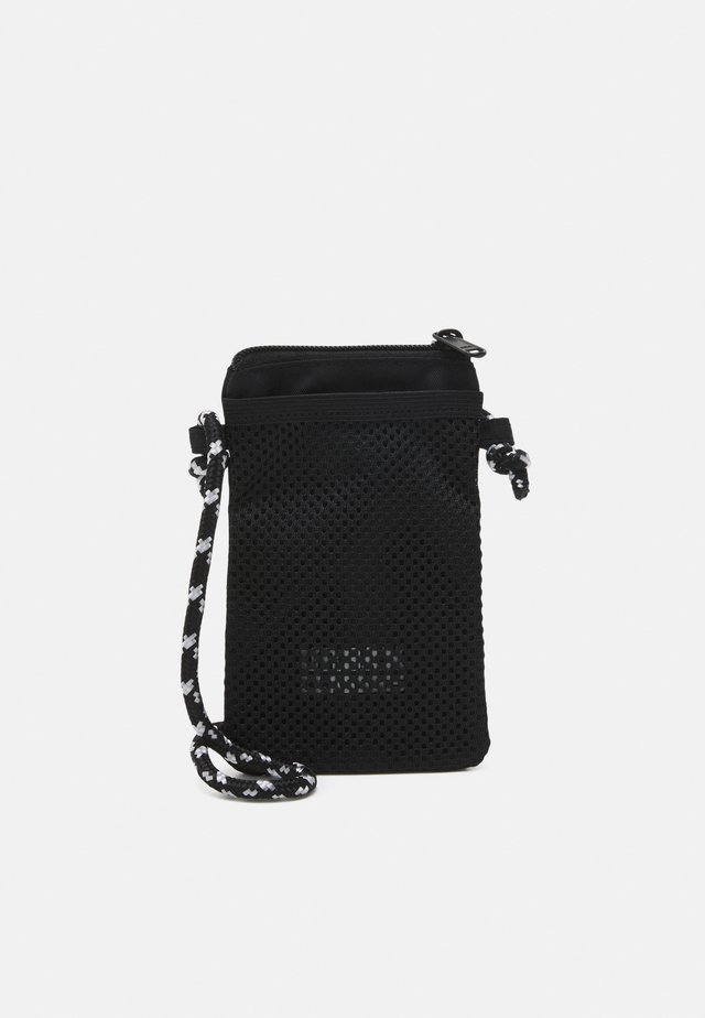 RECYCLED RIPSTOP NECKPOUCH UNISEX - Borsa a tracolla - black