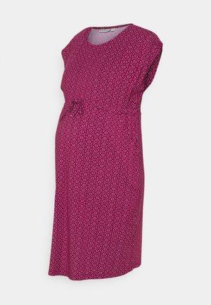 BATIK MATERNITY NURSINGT - Vestido ligero - beaujolais