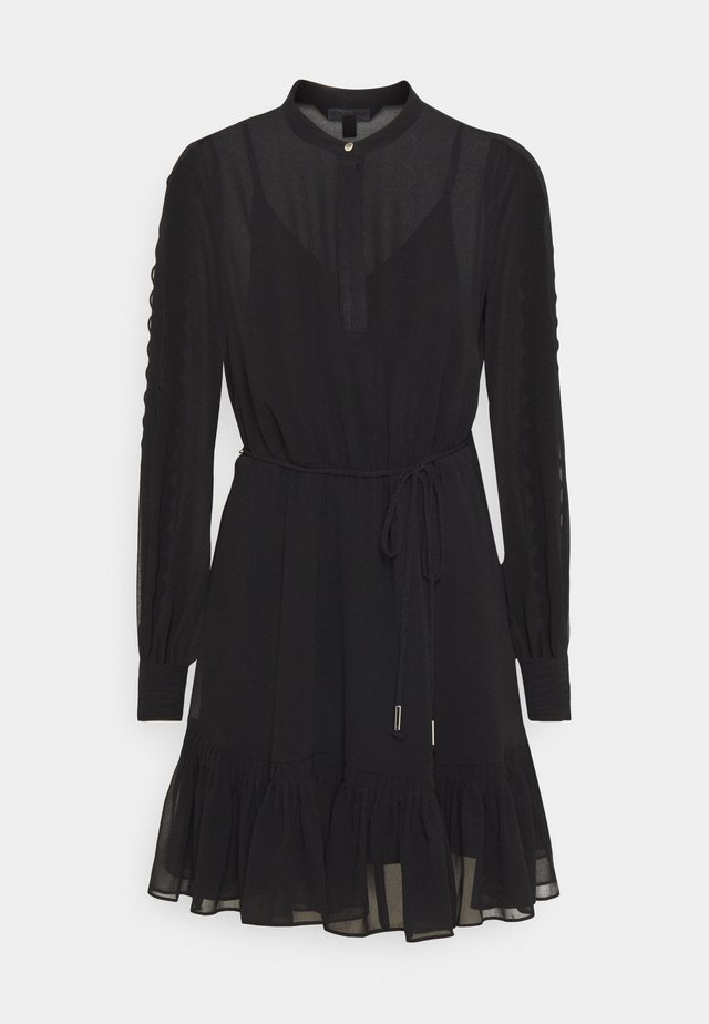 JULIETTE TRIM DETAIL DRESS - Juhlamekko - black