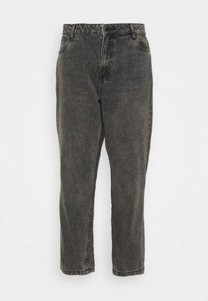 NMISABEL MOM  - Relaxed fit jeans - grey denim