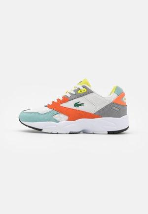 STORM  - Sneakers laag - orange/light green