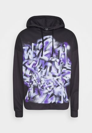 GRAFFITI - Sweat à capuche - black