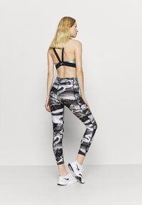 Under Armour - PRINT ANKLE CROP - Tights - black - 2