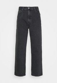 GALAXY - Straight leg jeans - washed black