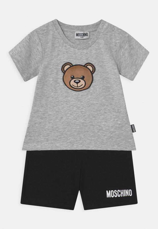 SET UNISEX - Shorts - grey/black