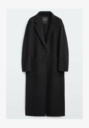 DAD-FIT - Klasyczny płaszcz - black