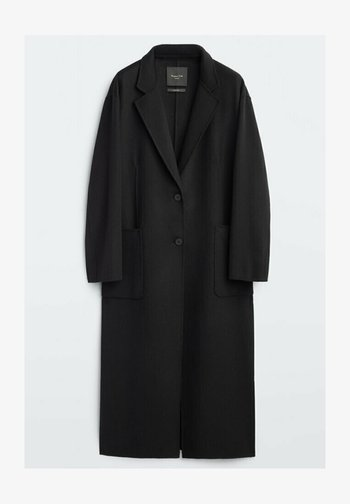 DAD-FIT - Classic coat - black