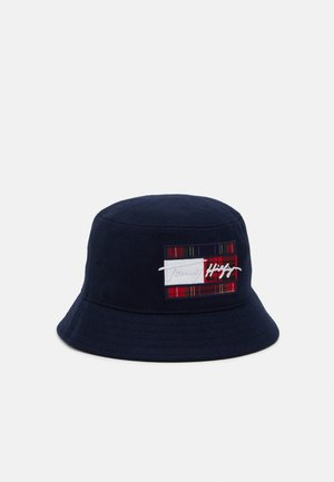 SIGNATURE FLAG BUCKET UNISEX - Hat - blue