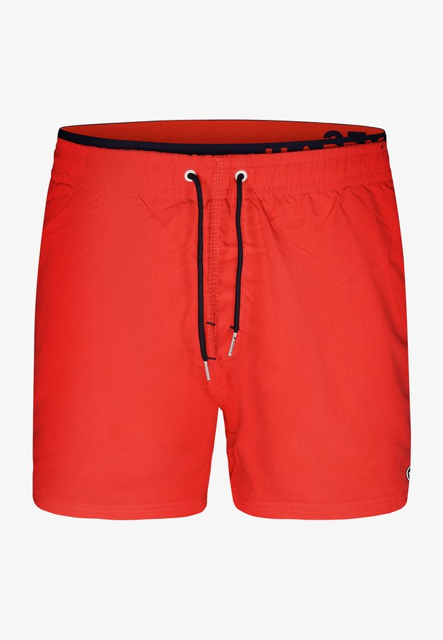 Zwemshorts - solid red