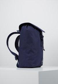 Calvin Klein Jeans - LOGO TAPE FLAP BACKPACK - Rucksack - blue - 4