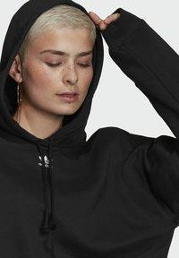 adidas Originals - HOODIE - Jersey con capucha - black - 5