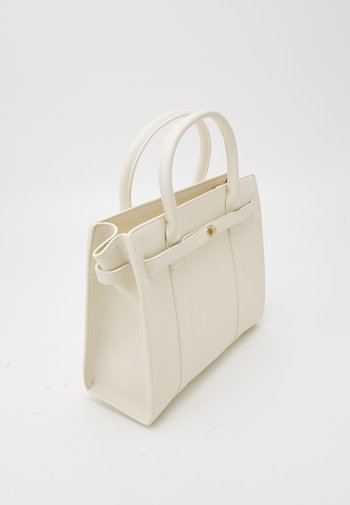 CECILY STRUCTURED TOTE - Handbag - ivory