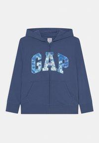 GAP - BOYS LOGO - Sweater met rits - chrome blue - 0