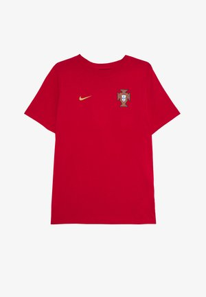 PORTUGAL FPF TEE CR7 - National team wear - gym red