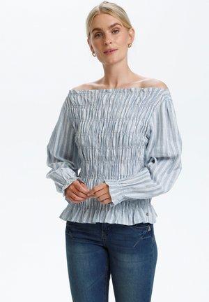 FILUMIA - Blouse - blue stripe
