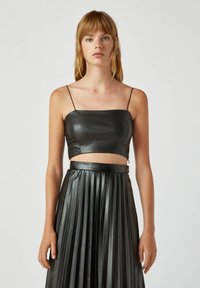 PULL&BEAR - Top - black - 0