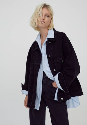 Denim jacket - black
