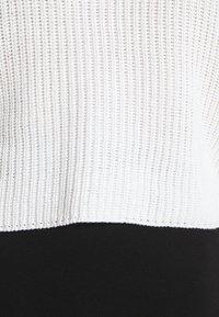 Even&Odd - CROPPED JUMPER - Jersey de punto - white - 6