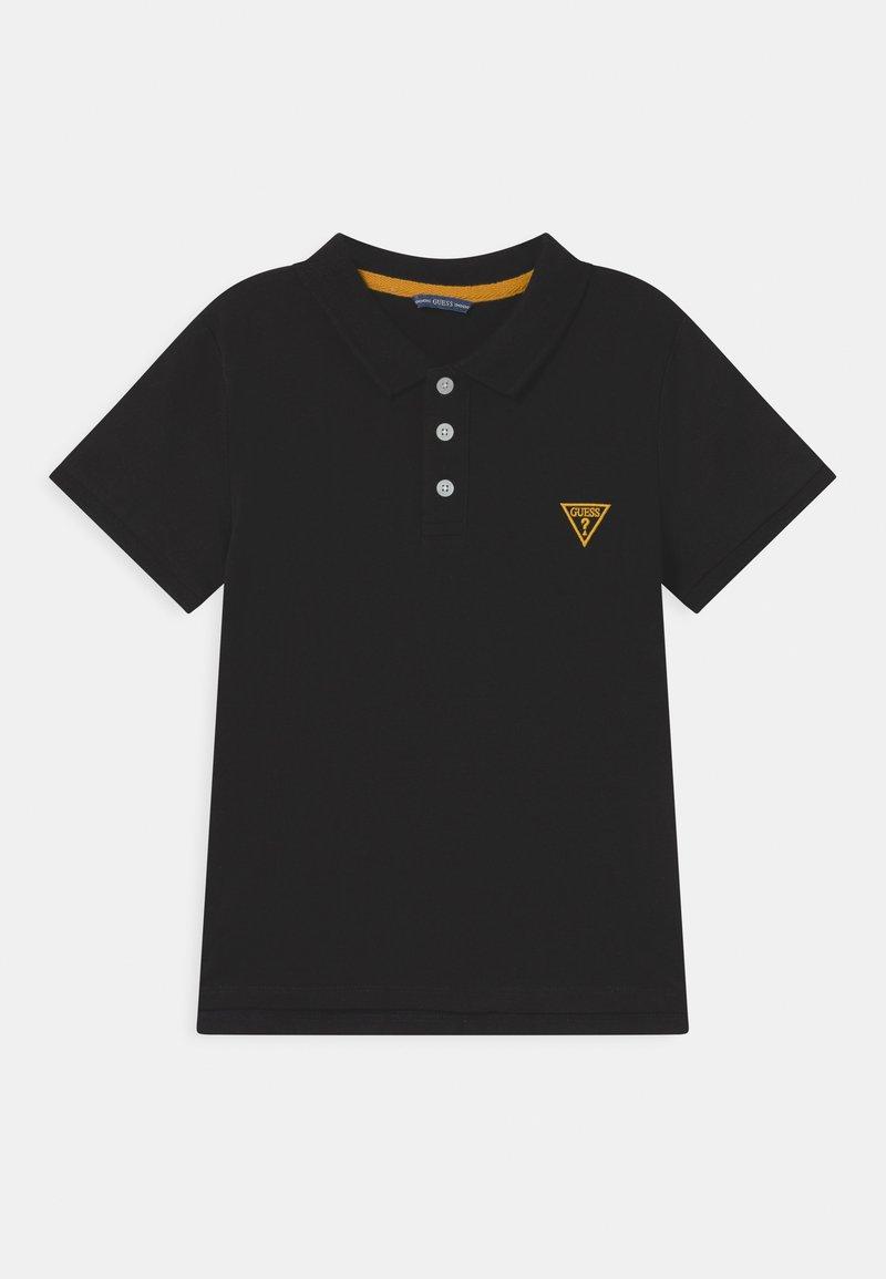 Guess - CORE JUNIOR  - Polo shirt - jet black