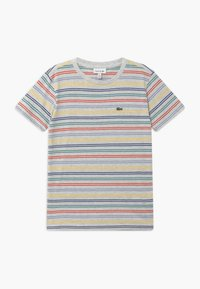 Lacoste - Print T-shirt - alpes grey chine/multicoloured - 0