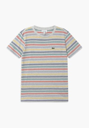 Print T-shirt - alpes grey chine/multicoloured