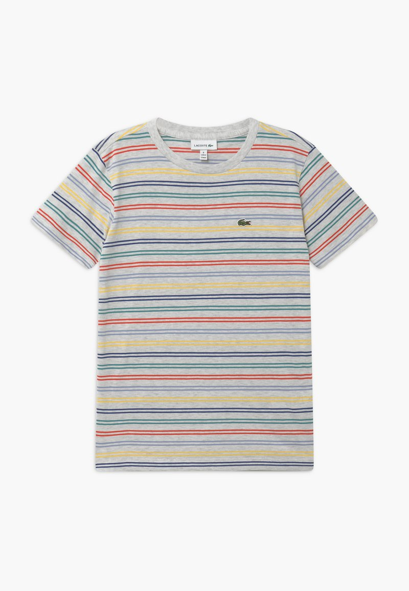Lacoste - Print T-shirt - alpes grey chine/multicoloured