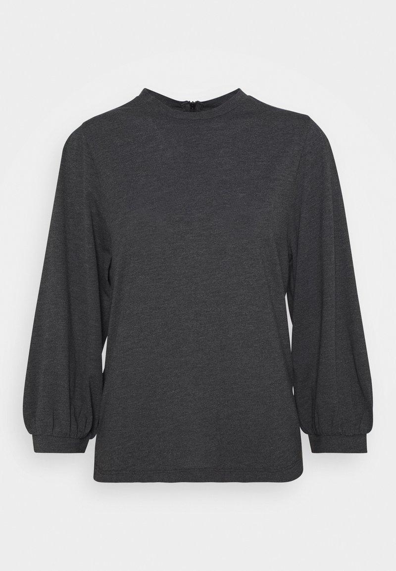 JDY - JDYANNELINE - Long sleeved top - phantom/melange