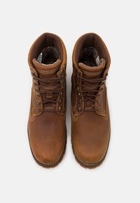 Timberland - RUGGED 6 IN PLAIN TOE WP - Lace-up ankle boots - rust - 3