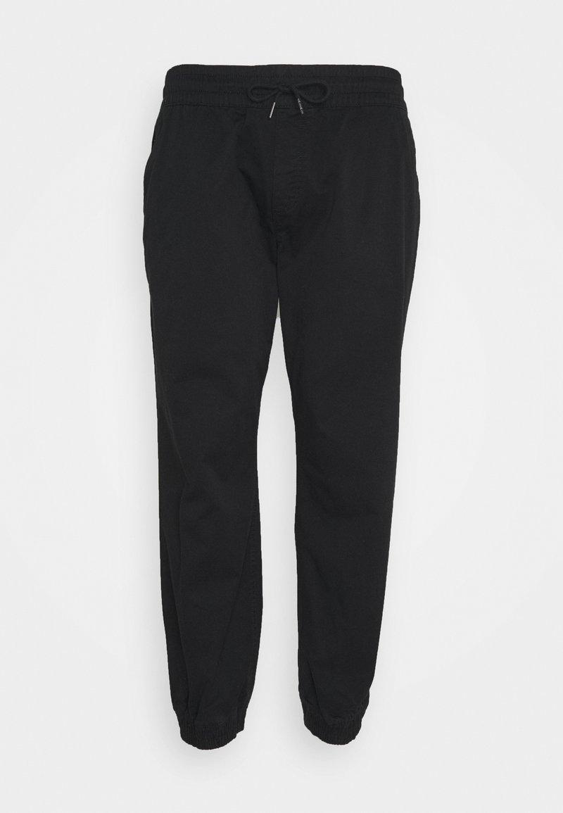 Jack & Jones - JJIGORDON JJLANE - Spodnie materiałowe - black
