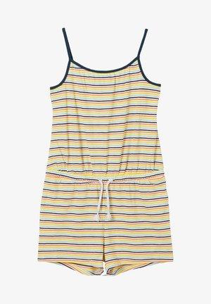 Jumpsuit - cream stripes