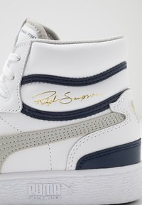 Puma - RALPH SAMPSON - High-top trainers - white/gray violet/peacoat - 5