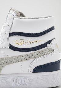 Puma - RALPH SAMPSON - Sneakers hoog - white/gray violet/peacoat - 5